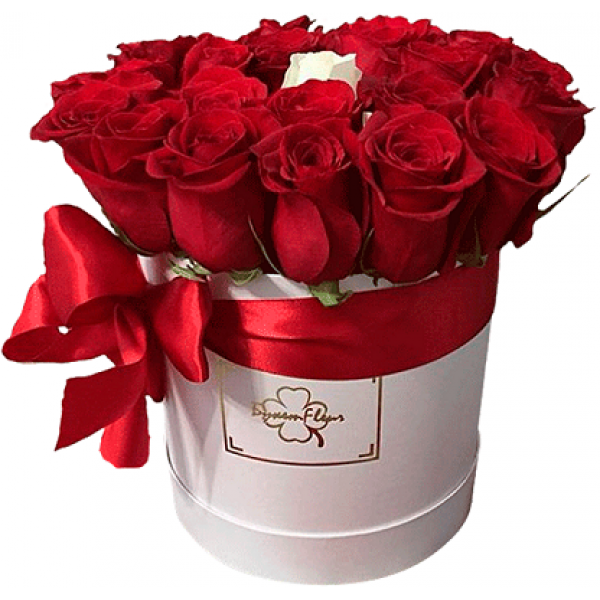 цветы в коробке фото розы